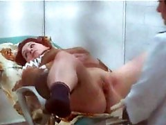 3 movies - Fat gingerhead falls victim to spy in gyno's room